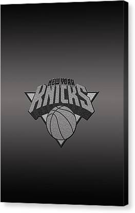 New York Knicks Canvas Print by Paulo Goncalves
