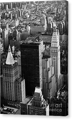 New York Life Insurance Co Building Belvedere Building And Metropolitan Life Insurance Corp Building Canvas Print by Joe Fox