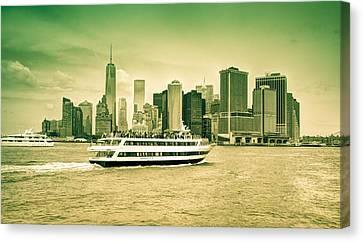 New York Metropolitan Canvas Print by Nick Mares