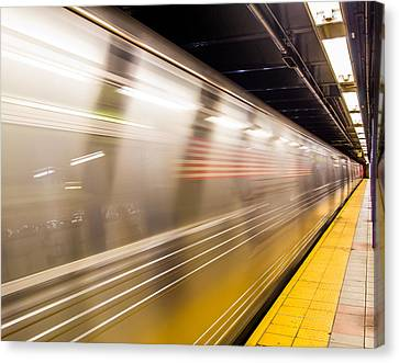 New York Metropolitan Underground Transportation Canvas Print