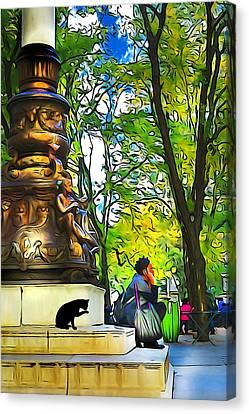 New York Moment Canvas Print