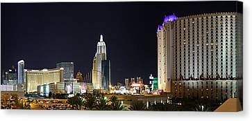 New Canvas Print - New York New York And Excalibur - Las Vegas - 01131 by DC Photographer