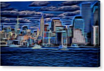 New York New York  Canvas Print by Dan Sproul