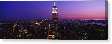New York Ny Canvas Print by Panoramic Images