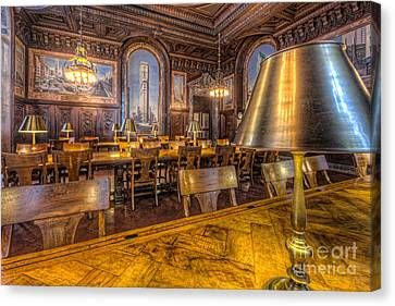 New York Public Library Periodicals Room IIi Canvas Print by Clarence Holmes