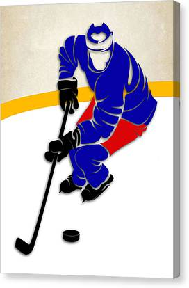 New York Rangers Rink Canvas Print