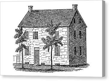 New York Senate, 1777 Canvas Print by Granger