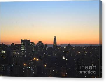 New York Skylight Canvas Print by Robert Daniels
