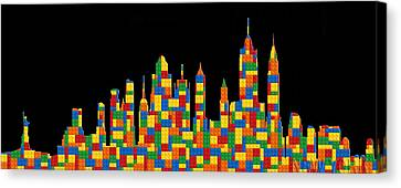 New York Skyline 2 Canvas Print