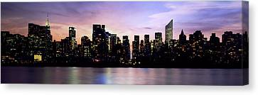 New York Skyline Canvas Print by Aged Pixel