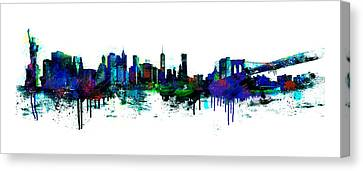 Liberty Canvas Print - New York Spray by Simon Sturge