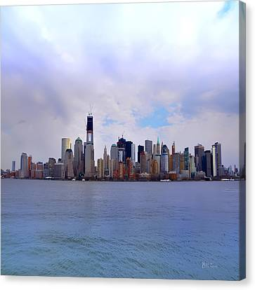 New York - Standing Tall Canvas Print by Bill Cannon