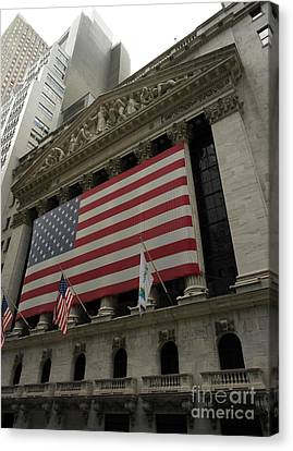 New York Stock Exchange Canvas Print by David Bearden
