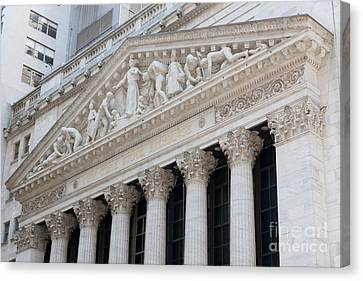 New York Stock Exchange I Canvas Print by Clarence Holmes