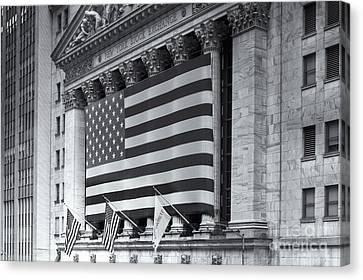 New York Stock Exchange Iv Canvas Print by Clarence Holmes