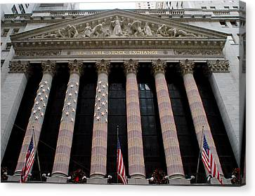 New York Stock Exchange Canvas Print by Yue Wang