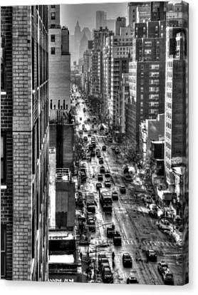 New York Tm 003 Canvas Print by Lance Vaughn