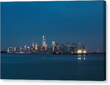 New York Twilight Canvas Print