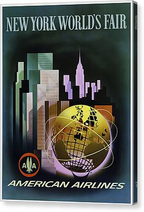 New York Worlds Fair Canvas Print by Mark Rogan