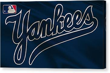 New York Yankees Uniform Canvas Print