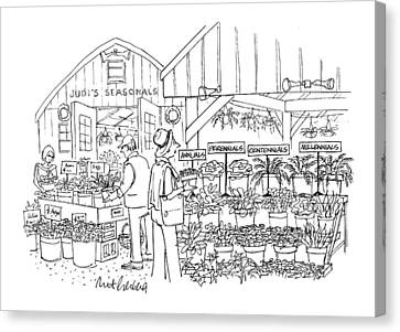 New Yorker April 12th, 1999 Canvas Print