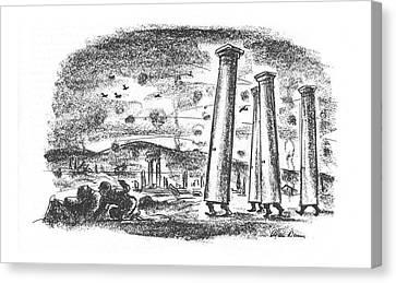 New Yorker April 15th, 1944 Canvas Print