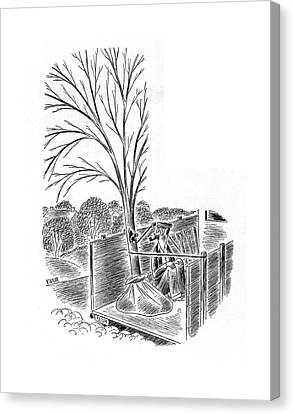 New Yorker April 19th, 1941 Canvas Print