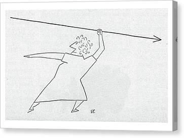New Yorker April 19th, 1952 Canvas Print