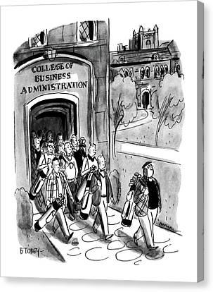 New Yorker April 24th, 1954 Canvas Print