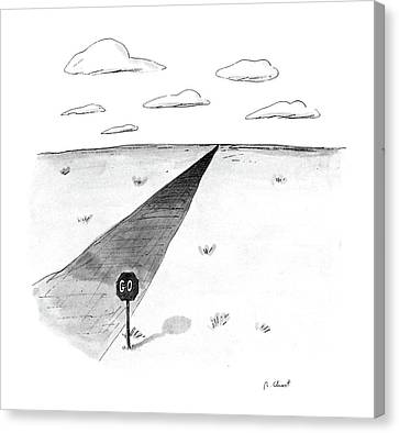 New Yorker April 27th, 1987 Canvas Print by Roz Chast