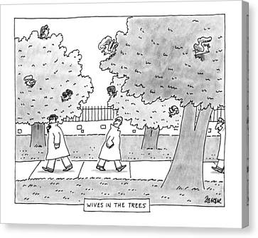 New Yorker April 29th, 1991 Canvas Print