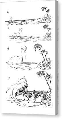 New Yorker April 3rd, 1943 Canvas Print