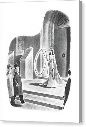 New Yorker April 6th, 1940 Canvas Print