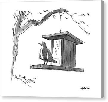 New Yorker April 6th, 1992 Canvas Print by James Stevenson