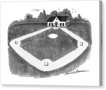 New Yorker August 12th, 1991 Canvas Print by Bernard Schoenbaum