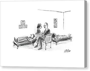 New Yorker August 15th, 1988 Canvas Print by Warren Miller