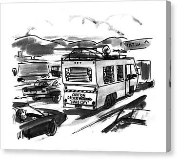 New Yorker August 1st, 1994 Canvas Print by Warren Miller