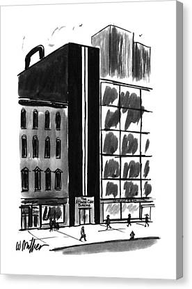 New Yorker August 21st, 1995 Canvas Print
