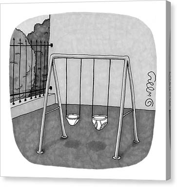 New Yorker August 23rd, 1999 Canvas Print