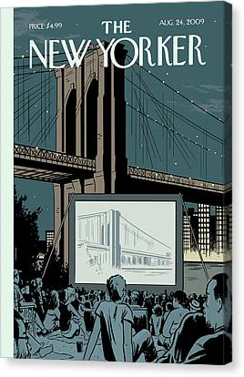 New Yorker August 24th, 2009 Canvas Print