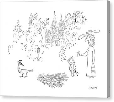 New Yorker August 26th, 1950 Canvas Print
