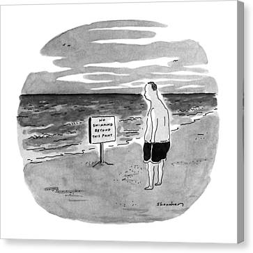New Yorker August 27th, 1990 Canvas Print