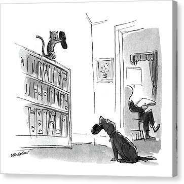 New Yorker August 29th, 1988 Canvas Print by James Stevenson