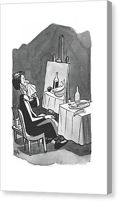 New Yorker August 2nd, 1941 Canvas Print