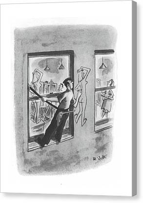 New Yorker August 7th, 1943 Canvas Print