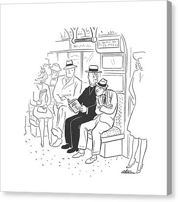 New Yorker August 9th, 1941 Canvas Print