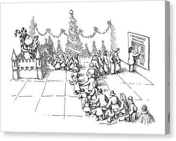 New Yorker December 10th, 1990 Canvas Print by John O'Brien