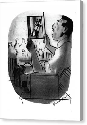 Close Up Canvas Print - New Yorker December 13th, 1941 by Garrett Price
