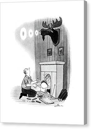 New Yorker December 13th, 1947 Canvas Print