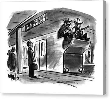 New Yorker December 19th, 1994 Canvas Print